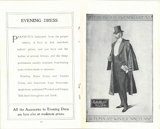 Description and image of evening dress