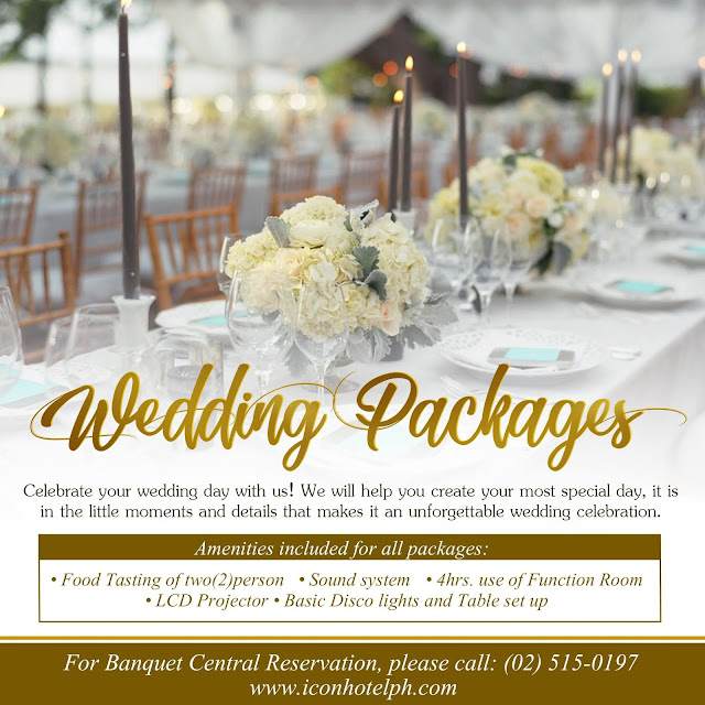 Icon Hotel Wedding Packages