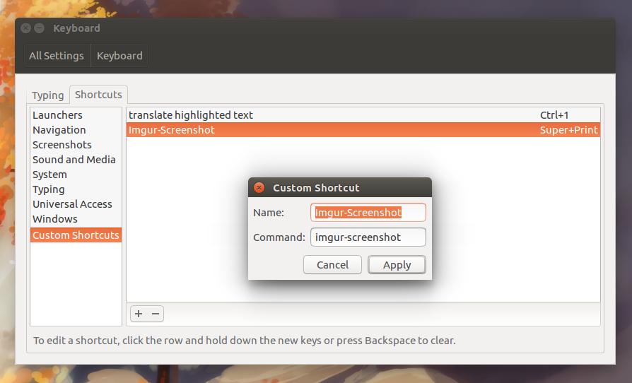 Take Screenshots And Upload To Imgur With Imgur-Screenshot ...