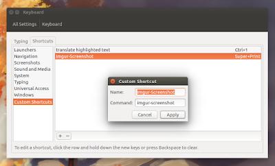imgur screenshot keyboard shortcut
