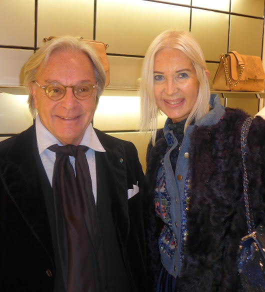 TOD'S .. DIEGO DELLA VALLE CEO of TOD'S GROUP , ANNE De CHAMPIGNEUL ...TOD'S TATTO by the indian artist SAIRA HUNJAN ..Special Artistic Performance ...Cocktail Party ...TOD'S Store 17- 21 Faubourg ST Honoré 75008 Paris
