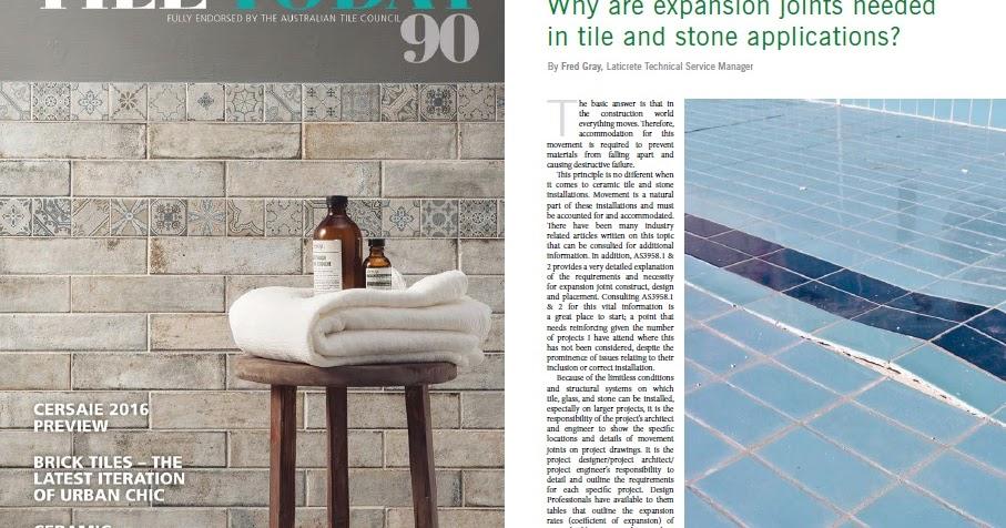Laticrete Australia Conversations Tile Today Issue 90