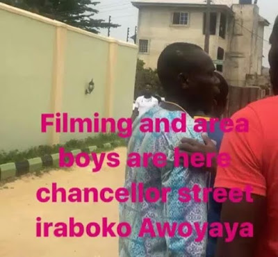 Funke Akindele & Her Crew Harrassed By Area Boys In Lagos State