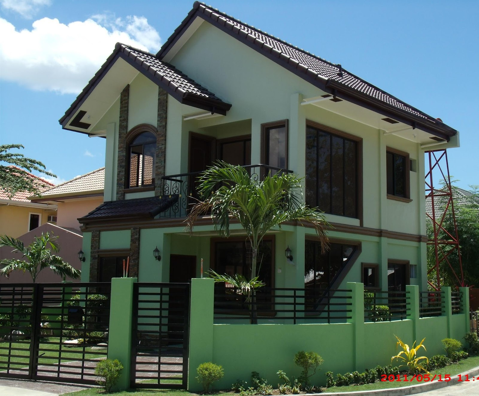 roof house: color steel roofing price list iloilo