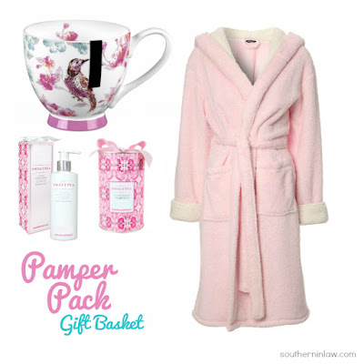 Pamper Pack Gift Basket - Budget Friendly Mother's Day Gift Ideas Under $50 - Unique Mother's Day Gift Ideas for Women, Pamper, Spa Pack, Relaxation