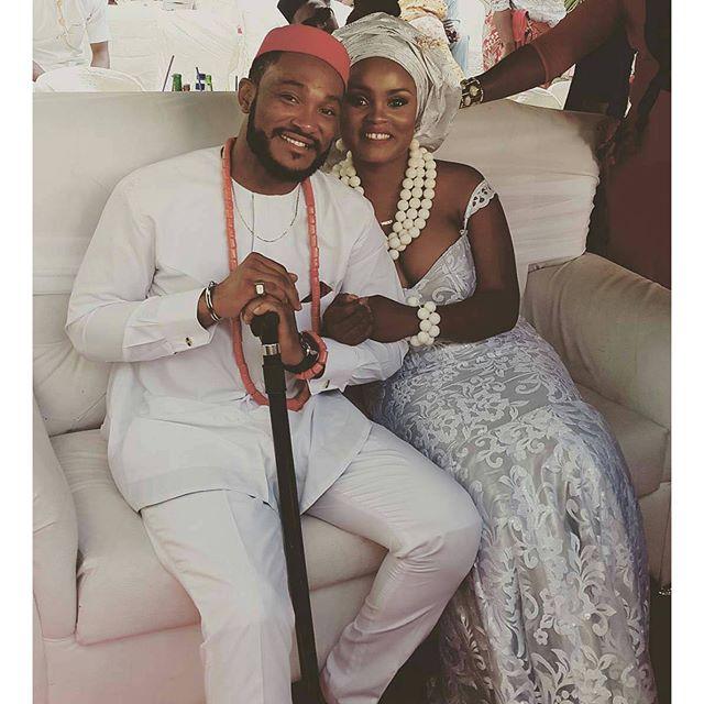 Nollywood actor Chukwujekwu Traditional Wedding
