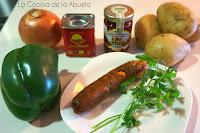 Patatas a la Riojana.