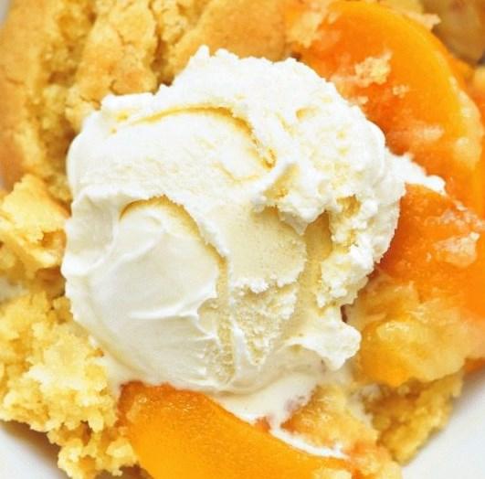 The Best Peach Cobbler #dessert #amazingrecipes