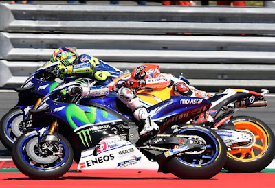 Rossi Akui Tak Mampu Kejar Lorenzo