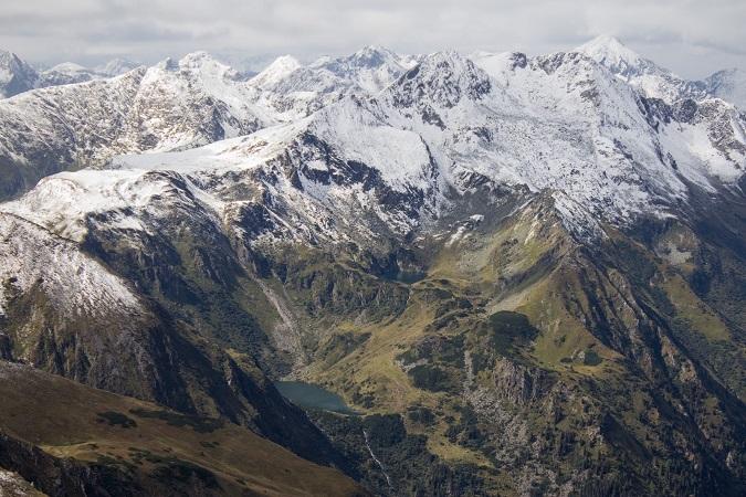 Wanderung von der Neunkirchnerhütte zum Hochstubofen in den Wölzer und Rottenmanner Tauern.