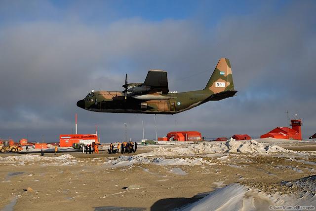 Resultado de imagen para C-130 Hércules + antartida