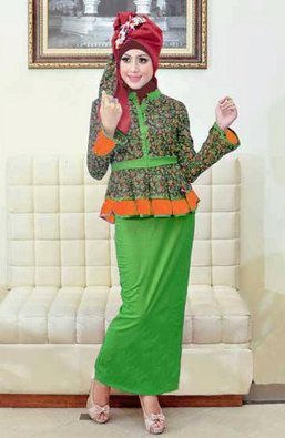 Gambar dress casual hijab wanita modis