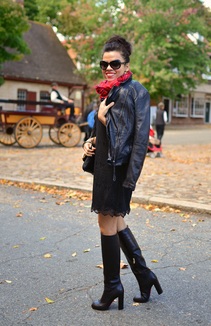 Tall Boots Street Style