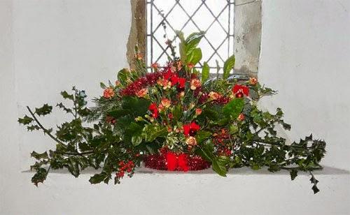 Christmas Flower Arrangement Ideas For Church