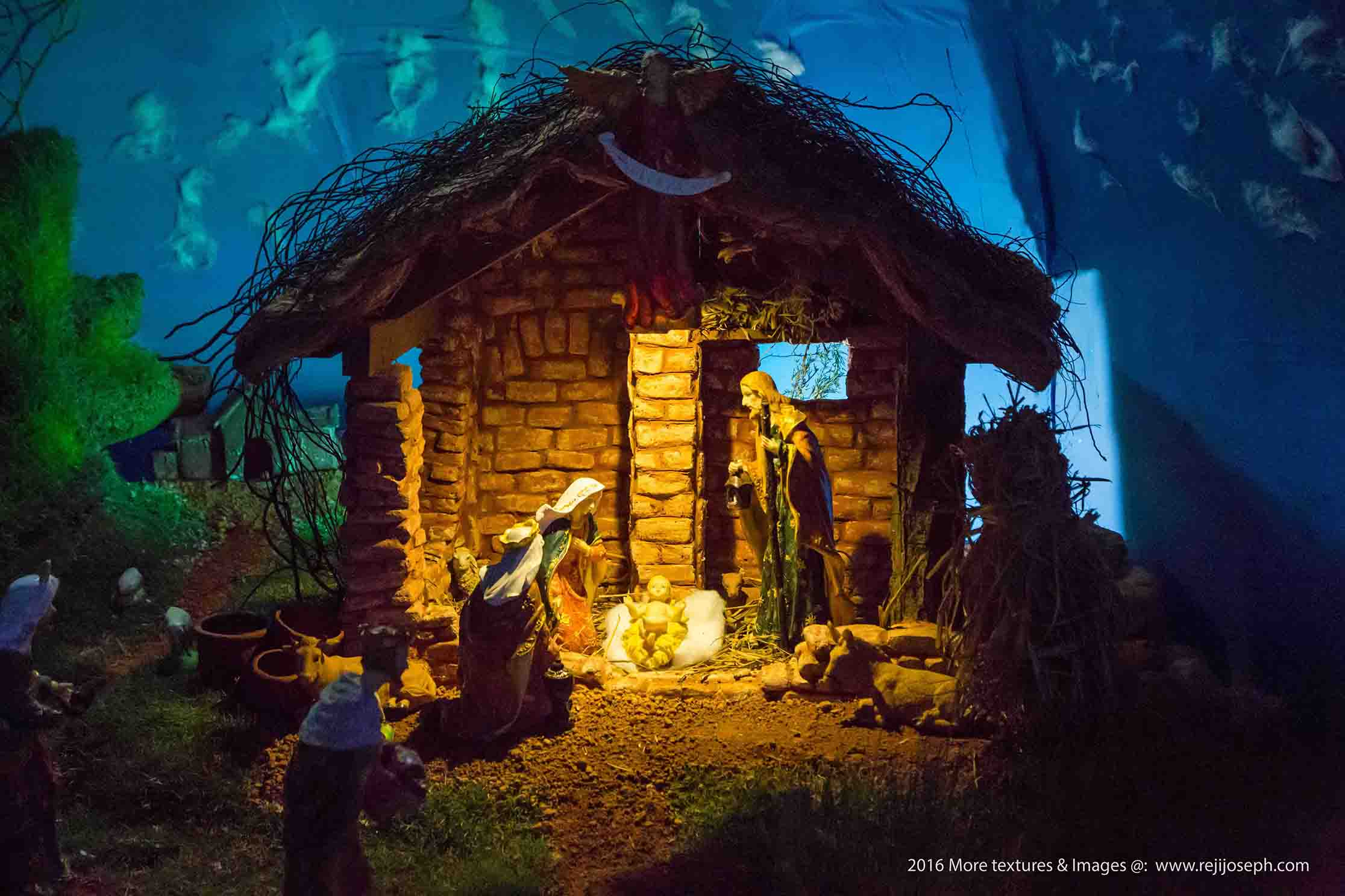 Christmas crib Pulkoodu St. George Forane Church Edappally 00011