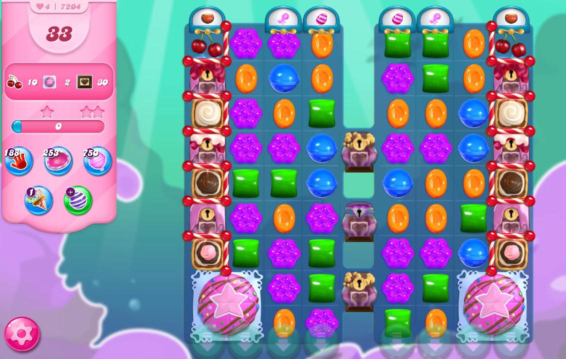 Candy Crush Saga level 7204