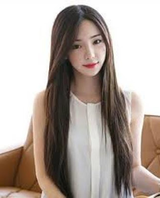 Model Rambut Panjang Asia