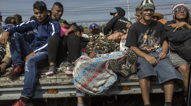 Mexico reshaping approach to Central American migrants as caravans push north
