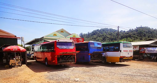 From Siem Reap to Phnom Penh by bus