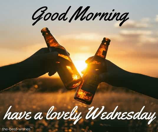 good morning friends have a lovely wednesday