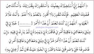 Doa Shalat Istikharah Lengkap