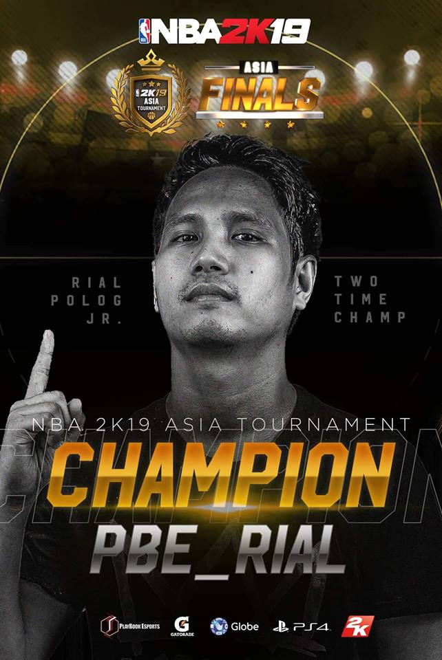 NBA 2K19 Asia Tournament Comes to a Close; Philippines Bags 4th Consecutive 2K Champioship Title