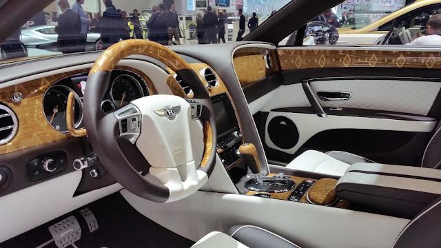 Innenraum Design des Mansory Bentley in Genf 2016