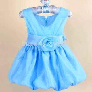 Model Baju Pest Anak Perempuan Warna Biru