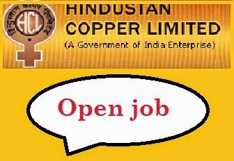 Hindustan Copper Ltd Recruitment 2017, www.hindustancopper.com