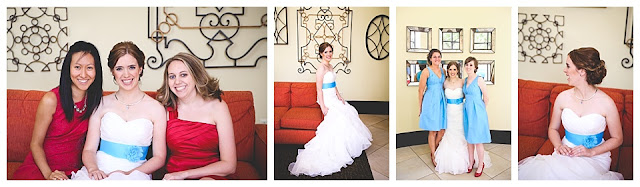 portraits of bride at Hilton Garden Inn, Terre Haute