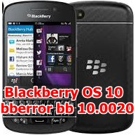 Blackberry OS 10 Error After Hard Reset