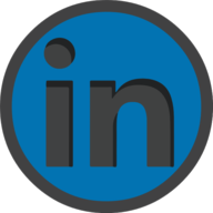 linkedin icon outline