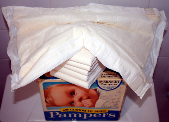 Pampers diapers 1971