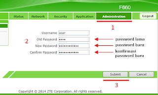 mengganti default username dan password administrator akan meningkatkan keamanan