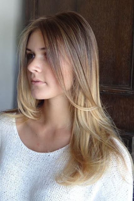 #5 Blonde hair color shade