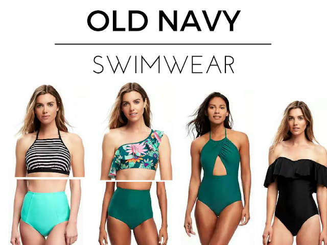 Cute high-waisted and one-piece swimsuits for 2017