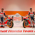 Márquez y Lorenzo inauguran el 25º aniversario del equipo Repsol Honda