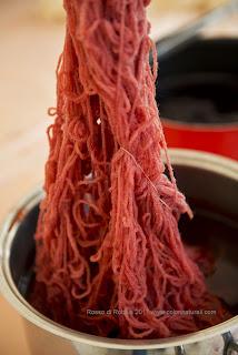 tintura naturale corsi filati sostenibili lana corso