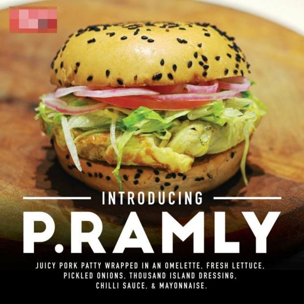 Burger Babi P. Ramly Akur Tukar Nama Setelah Di Desak Orang Ramai