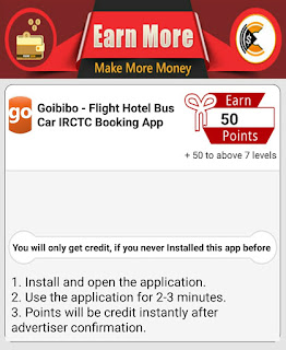 How to complete Goibibo -Flight Hotel Bus Car IRCTC Booking App Offer In Champ Cash