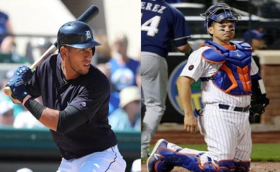 En #MLB los @caraquistas Victor Reyes (prospecto) y Jose Lobaton (el fantasma) son Noticia ...