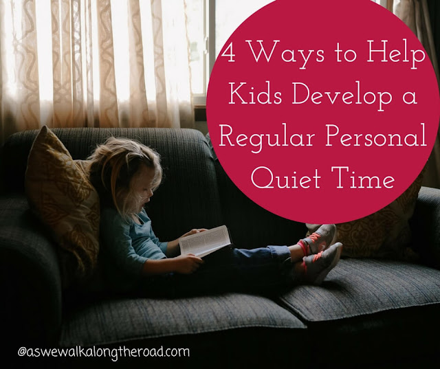 Quiet devotional time for kids