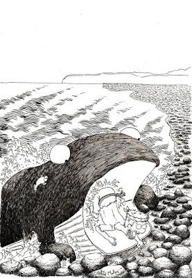 """la baleine et son gosier"", Kipling, Malric"