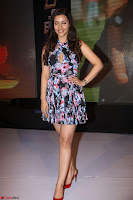Kyra Dutta in a Deep neck Small Dress at Shamanthakamani pre release function ~  Exclusive 092.JPG