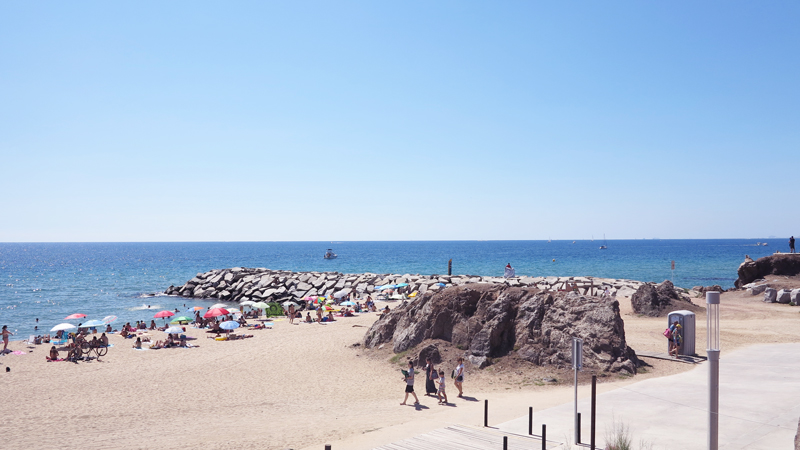 Montgat, a beach close to Barcelona  Midoris OBSESSIONS
