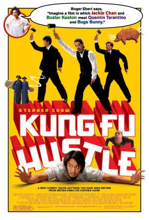 Poster of Kung Fu Hustle 2004 720p Hindi BRRip Dual Audio Full Movie Download