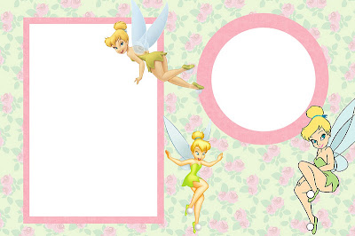 For Tinkerbell Party Invitations Cards Backgrounds Or Labels