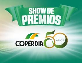 Promoção Supermercados Copérdia Aniversário 50 Anos Show de Prêmios