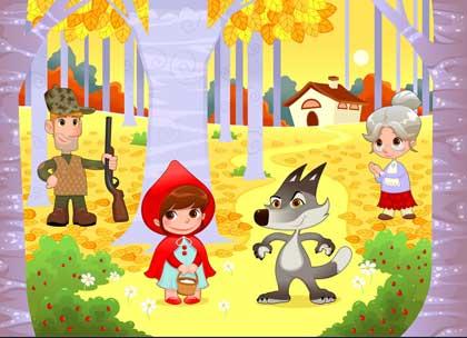 Dongeng Bahasa Inggris singkat Little Red Riding Hood