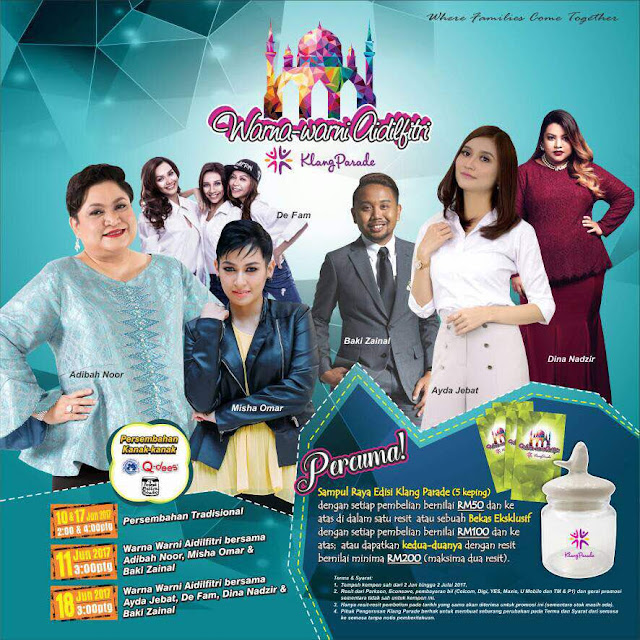 Warna Warni Aidilfitri Klang Parade